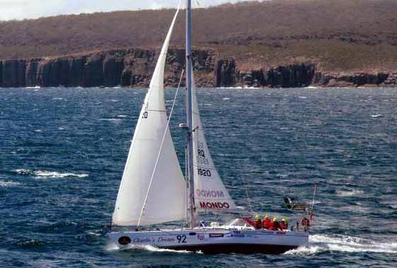 """Charlie's Dream"" 4th Sydney To Hobart"