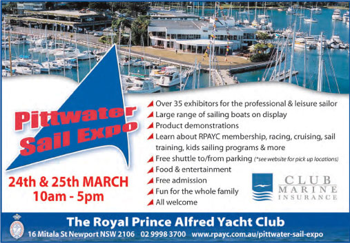 An Invitation to the Pittwater Sail Expo